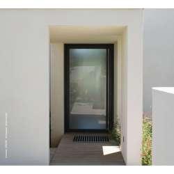 Portes Technal Soléal ouverture extérieure 1 vantail