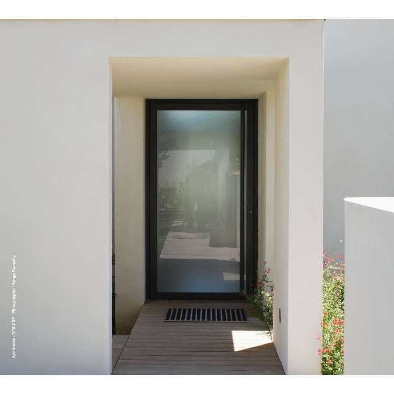 Porte technal sol al ouverture ext rieure 1 vantail for Porte 1 vantail